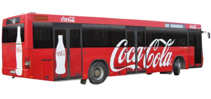 Розміщення реклами в автобусах